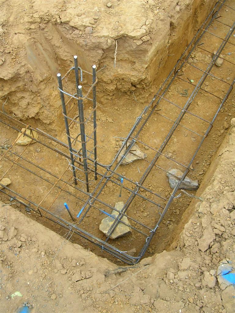 Fondations suite les semelles maison poyaudine for Le ferraillage des fondations