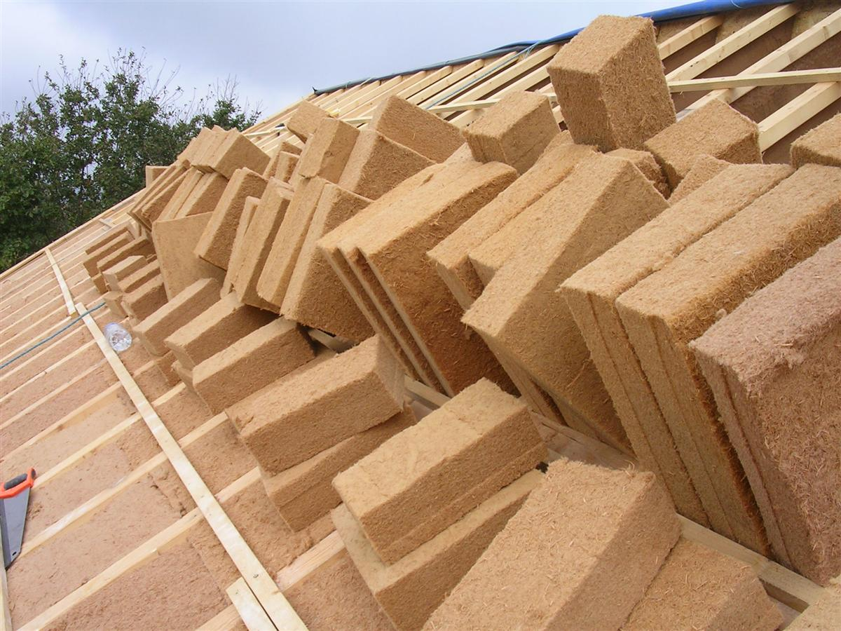 découpe panneaux fibre de bois Maison Poyaudine # Sarking Fibre De Bois