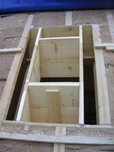 Redimensionnement du chevêtre de toit