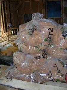 Les sacs de chute de fibre de bois