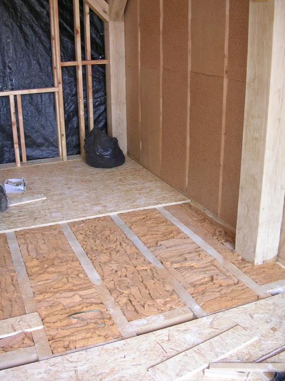 plancher bois sur vide sanitaire maison poyaudine. Black Bedroom Furniture Sets. Home Design Ideas
