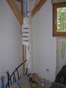 Tout est prêt pour accueillir le câblage de la maison !