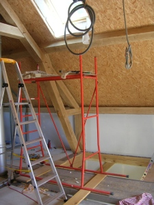 Installation sportive pour le Velux