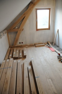 Deuxième chambre presque terminée